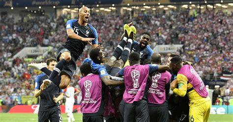 World Cup Final France Beats Croatia Win Second