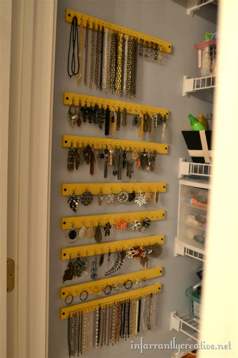Closet Organizers Jewelry Storage by 25 Creative Necklace Organization Ideas The Thinking Closet