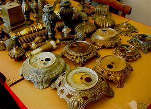 Formal antique lamp parts atlanta ga