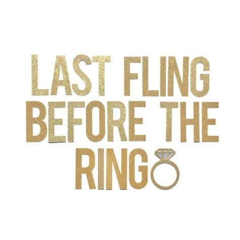 Bachelorette Party Banner // Last Fling Before The Ring