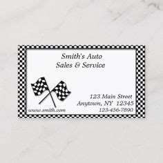 auto sales business cards images business cards
