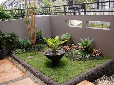 taman rumah minimalis ruang terbatas httpwww