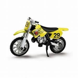 Moto Cross Suzuki : repliques motocross new ray suzuki 125 rm miniatures de motocross ~ Louise-bijoux.com Idées de Décoration