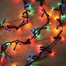 200 Multi Color Garland Lights Eaves Banister Railing Rope String Light Clips 25 Pack