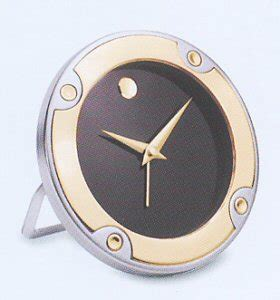 Movado Desk Clock by Two Tone Alarm Clock Rgo 008 M Movado Clocks Clock
