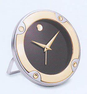 movado desk clock battery two tone alarm clock rgo 008 m movado clocks clock