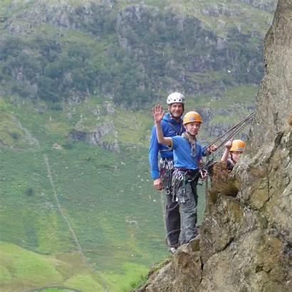 Climbing Rock Lake District Mountain Course Training