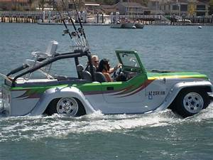 7 Amphibious Cars That Can Run On Both Land And Water