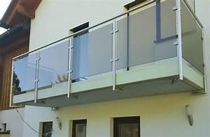 Balkon Mit Glas : edelstahlgel nder mit glas metallbau schmidt partner gmbh ~ Frokenaadalensverden.com Haus und Dekorationen