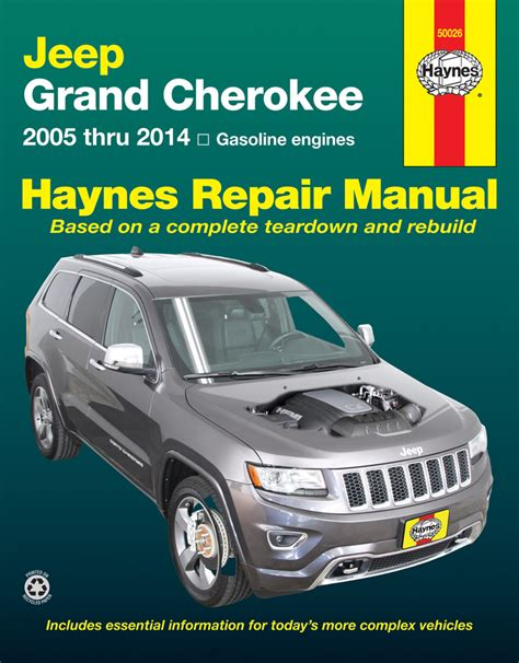 manual jeep cherokee jeep grand cherokee haynes repair manual 2005 2014