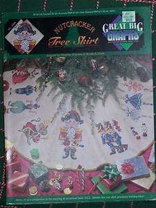 Envelope For Money New Nutcracker Christmas Tree Skirt Cross Stitch Pattern