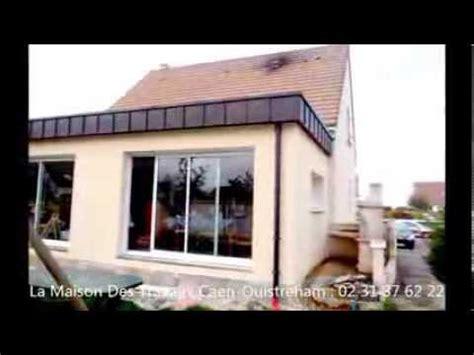 agrandissement cuisine sur terrasse extension de maison toit plat agrandissement salon