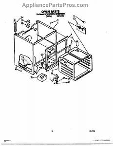 Parts For Whirlpool Rf365pxxw1  Oven Parts