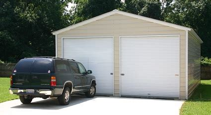 how much does a garage cost how much does a metal garage cost