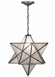 Star pendant light fixture baby exit