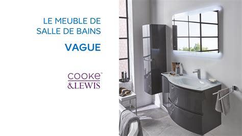meuble de salle de bains vague cooke lewis 690663 castorama