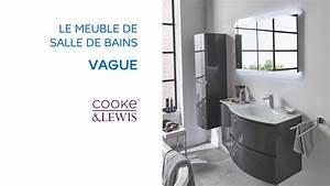 meuble de salle de bains vague cooke lewis 690663 With castorama meubles de salle de bain