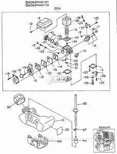 Robin  Subaru Ec03 Parts Diagram For Fuel Tank  Carburetor I  Ec03f