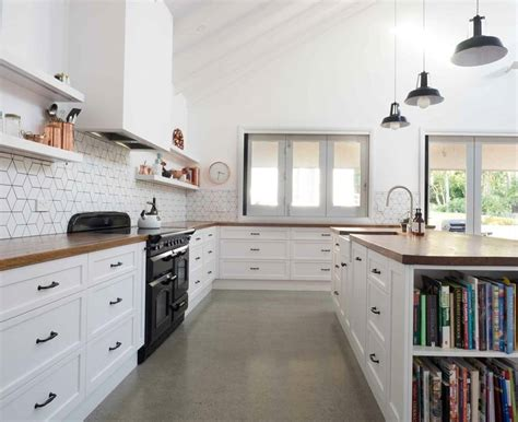 Wood Floor Ideas For Kitchens - which material is best for kitchen benchtops build local