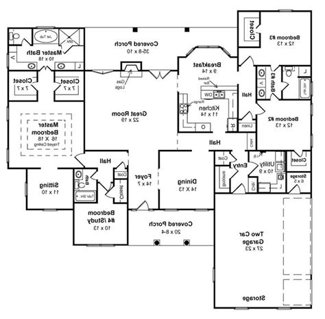 home floor plans with basement awesome ranch floor plans with walkout basement home