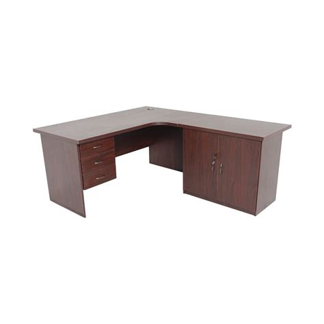 l shaped desk with credenza value range l shaped office desks with side extensions