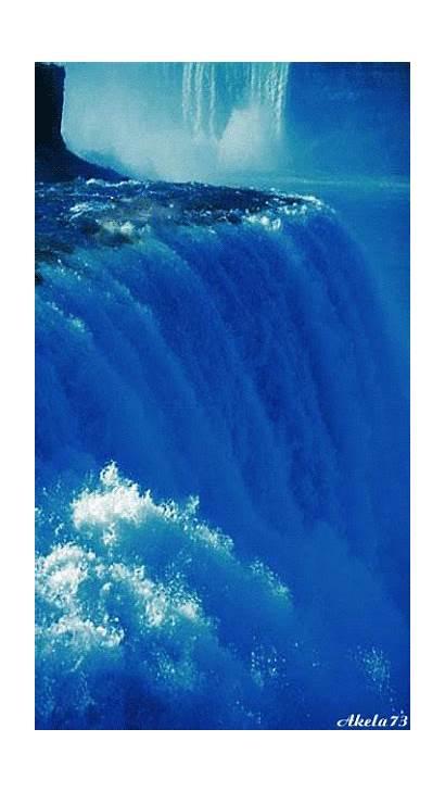Amazing Gifs Water Falls Beyond