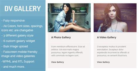 dv gallery  responsive wordpress gallery plugin