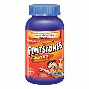 Flintstones Complete Children's Multivitamin/Multimineral ...