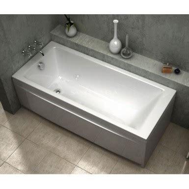 baignoire acrylique droite bali sanycces robinet