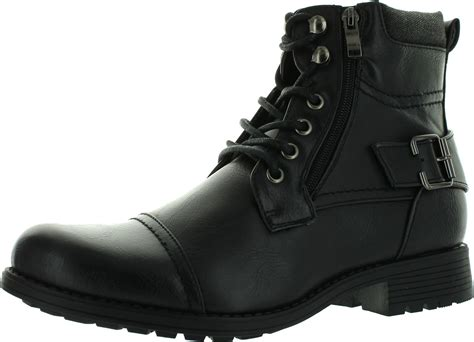 Arider Bull-01 Mens Ankle Combat Army Low-top Causal Boots