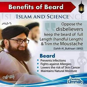 Benefits of bea... Beard In Islam Quotes