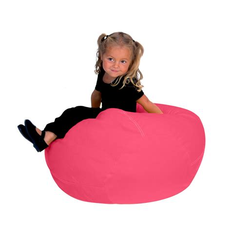 junior magenta bean bag chair cover cool beanbag skin