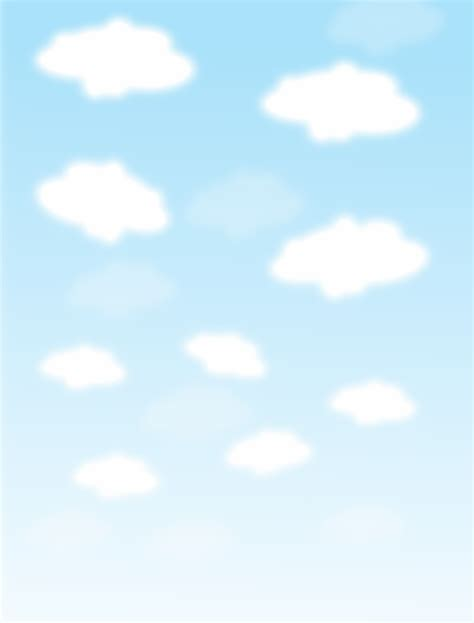 Sky Clipart Sky With Clouds Page Page Frames Background Pages Sky