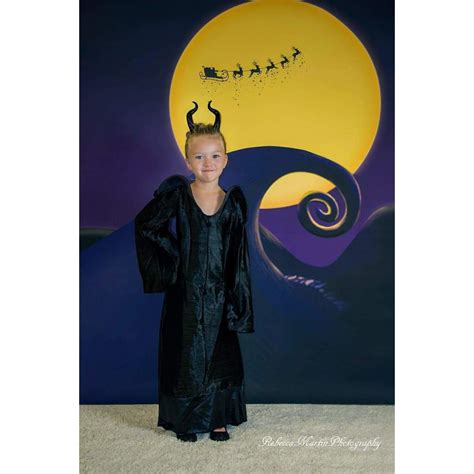 Nightmare Before Photo Backdrop by Nightmare Before Printed Backdrop Backdrop Express