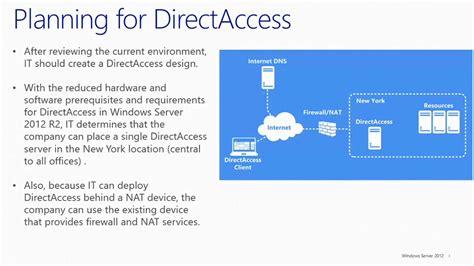 part  microsoft directaccess  vpn  directaccess