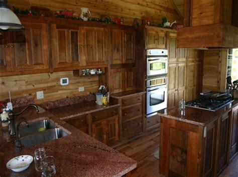 kitchen furniture cabinets rustic barn wood kitchen cabinets distressed country design