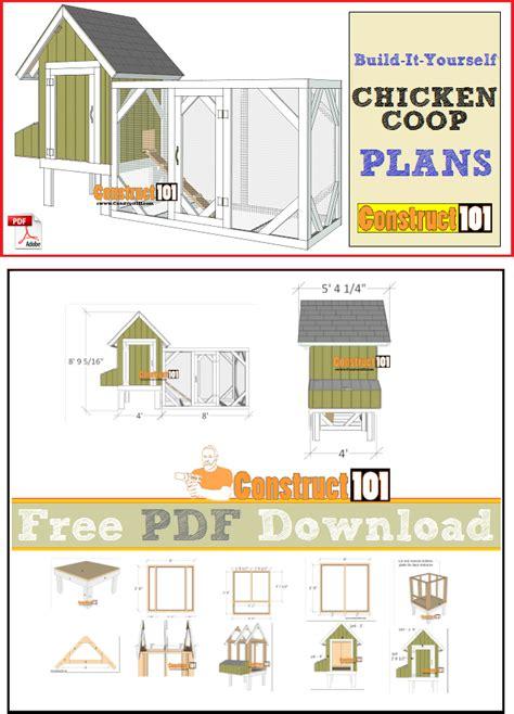 chicken coop plans   construct