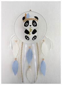 Attrape Reve Chambre Bebe : mobile attrape r ves panda pour d coration chambre de b b ou d 39 enfant id e cadeau naissance ~ Teatrodelosmanantiales.com Idées de Décoration