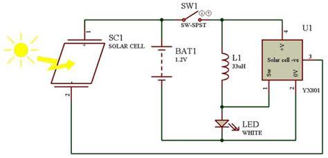yx801 datasheet solar led driver yx801 circuit