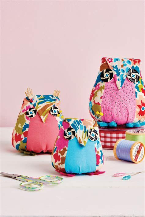 aly owl pincushion  sewing patterns sew magazine