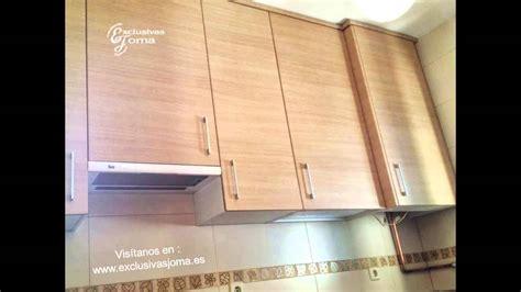 muebles de cocina en madera  encimera de formica
