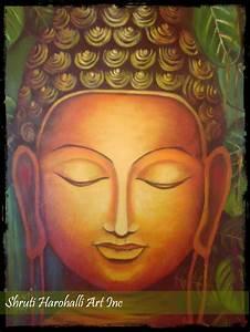 Buddha Face | Shruti Harohalli Art Inc.