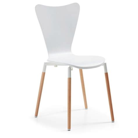 chaise blanche pas cher chaise design pas cher 80 chaises design à moins de 100