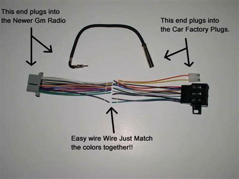 new factory radio stereo installation delco 16140051 wire