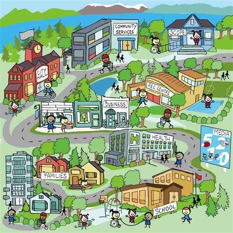 Neighborhood Map Kids  Google Search  Social Studies