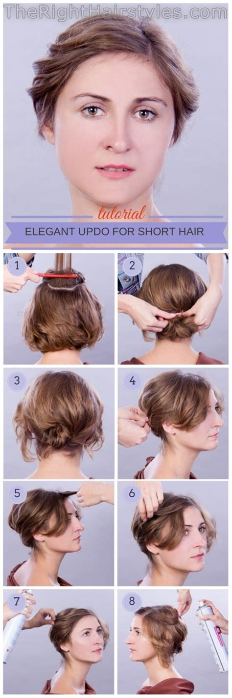 Updo Hairstyles For Hair Tutorial by How To Updo For Hair