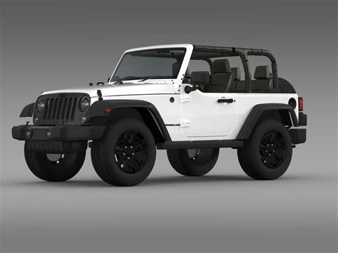 jeep wrangler willys   model flatpyramid