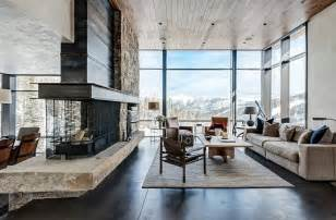 interior design mountain homes rustic contemporary living room luxury mountain homes contemporary mountain home interior