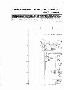 Toshiba 14n5xm Tv Sm Service Manual Download  Schematics