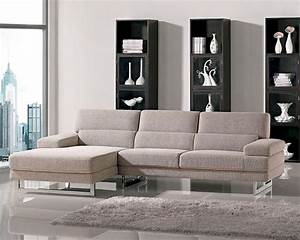Modern, Style, Fabric, Sectional, Sofa, 44l6104